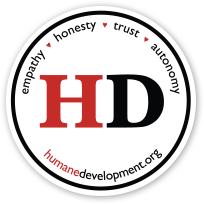 Humane Development Sticker